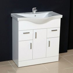 Ardent Vanity Unit Cabinet with Basin 800 mm